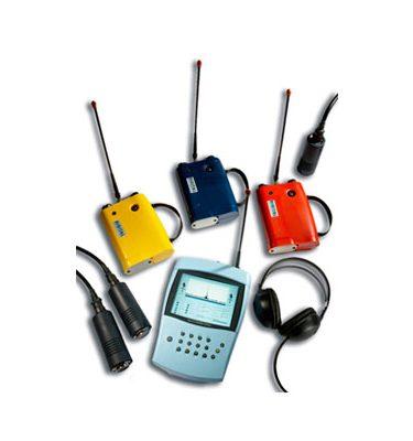 Microcall Tricorrelador digital Detección y localización de fugas Correladores Mejoras Energeticas