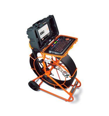 Solopro Equipo de inspección de tuberías Equipos de empuje Videoinspección Mejoras Energeticas