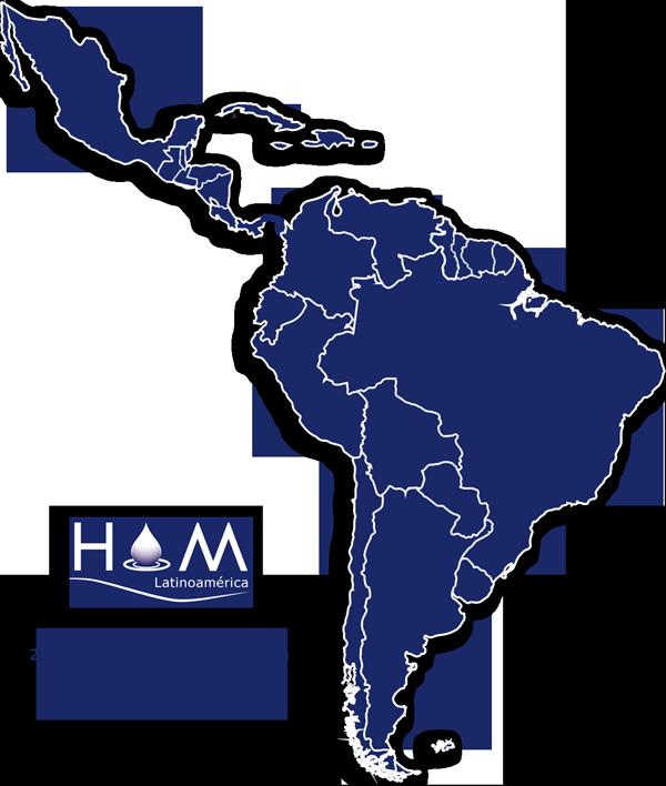 Mapa Latinoamerica Contacto Mejoras Energeticas