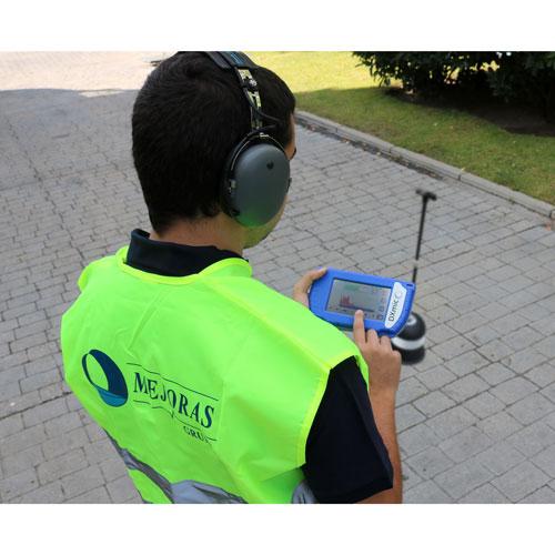 DXmic 4 Geófono de localización de fugas de agua Mejoras Energeticas