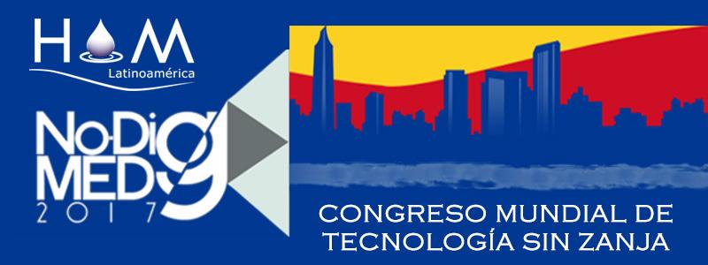 Hidromejoras presente en No-Dig Medellín 2017. Congreso Mundial de Tecnología sin Zanja