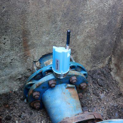 fácil instalación pequeño y compacto detector y localizador de fugas de agua