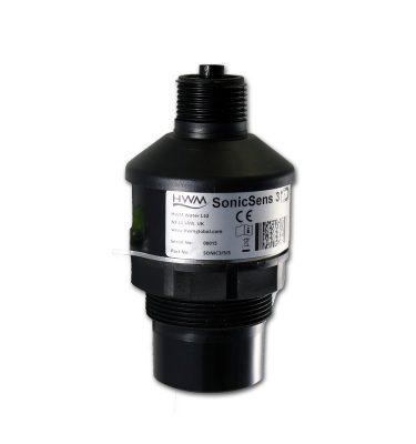 sensor ultrasónico para la detección de alivios, nivel y caudal