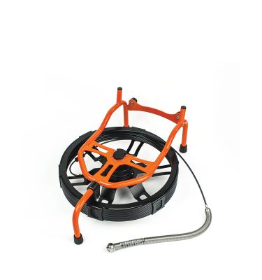 Carrete Mini-Reel con CAM30 para inspección de tuberías de pequeño diámetro