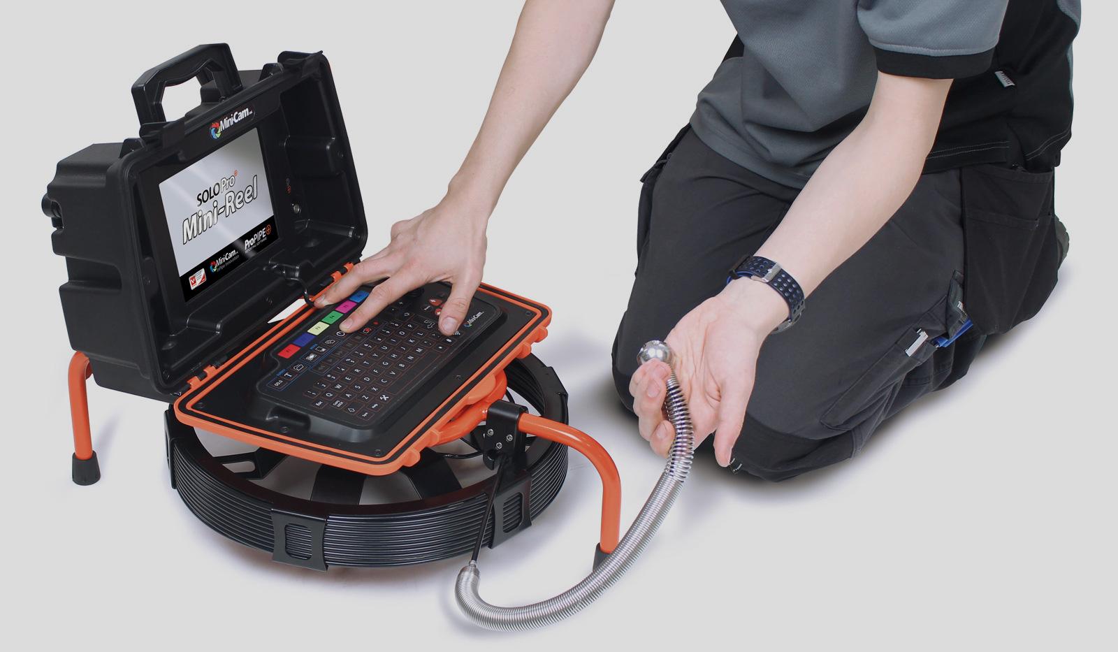 Completa tu sistema SOLOPro+® con el nuevo carrete Mini-Reel