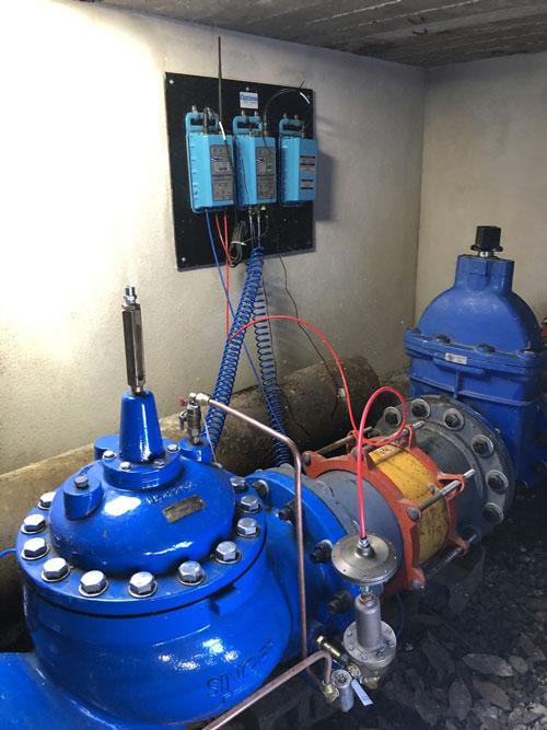 Sectorización y Reducción de Agua No Facturada. HWM-Latinoamérica
